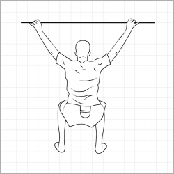 Overhead Squat Posterior